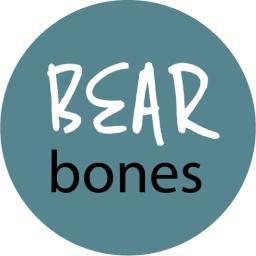 Bear Bones Logo circle