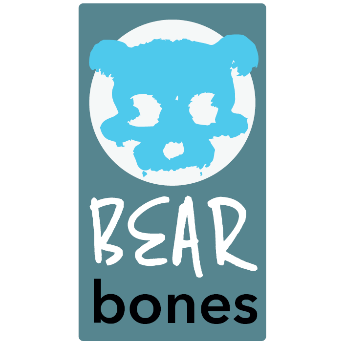 Bear Bones Logo LONG square | Ford Digital Agency Public Relations