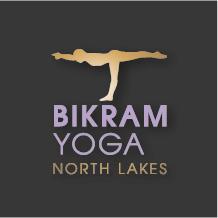 Bikram yoga Northlakes logo